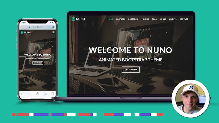 Learn Bootstrap 4 By Creating An Advanced Bootstrap Theme