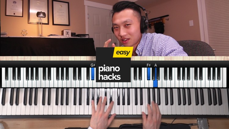 EasyPianoHacks | How to Learn Difficult Piano Songs Fast | Udemy
