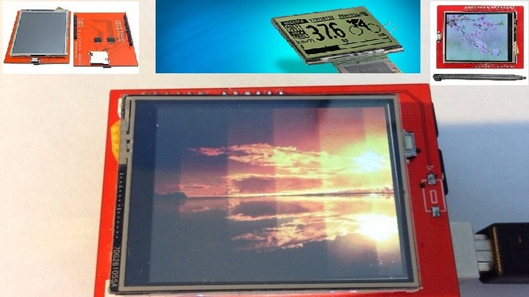 Arduino Graphic TFT LCD with touch screen master class | Udemy