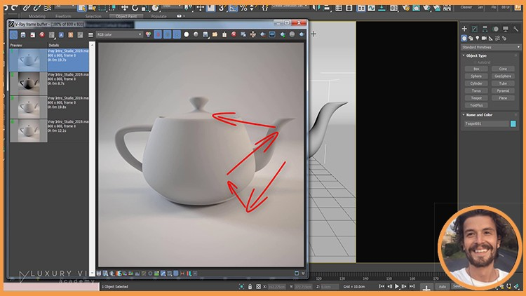 Introduction To Vray in 3ds Max : The Quickest Way | Udemy