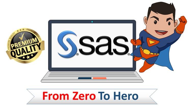 Complete SAS Programming Bootcamp 2019: Go from zero to hero