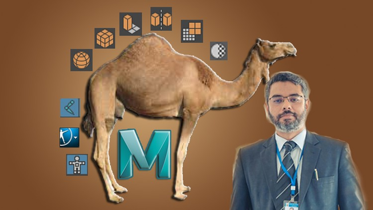 Modeling and Rigging Camel Character in Maya  (Urdu/Hindi)