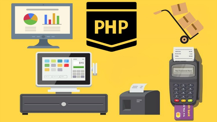 PHP for Beginners to Inventory POS Sales Project – AdminLTE