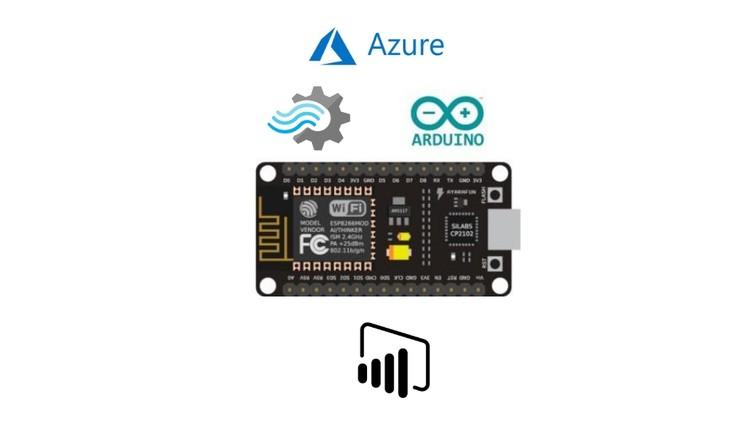 Learn Microsoft Azure IOT with ESP8266 & Microsoft Power BI | Udemy