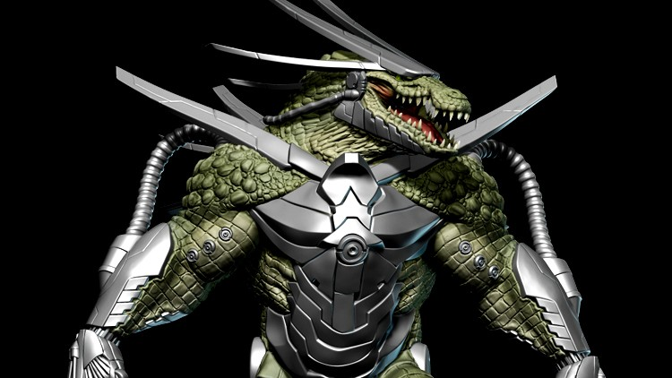 Cyber Reptile Game Character Creation Volume 1 | Udemy