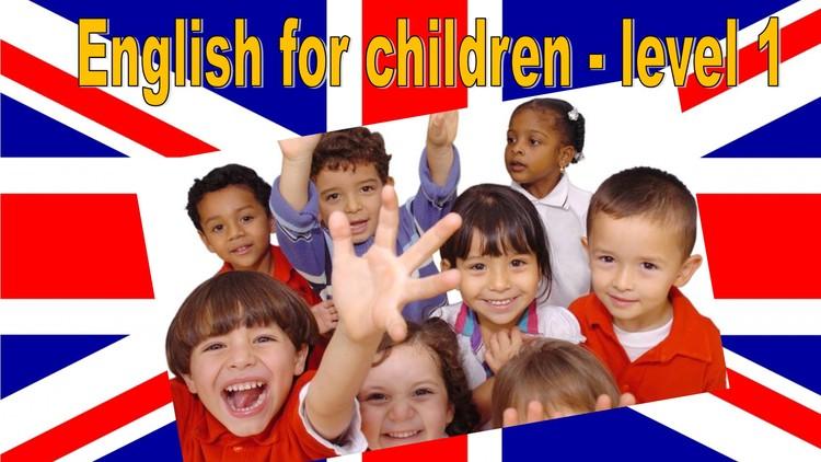 English for children level 1