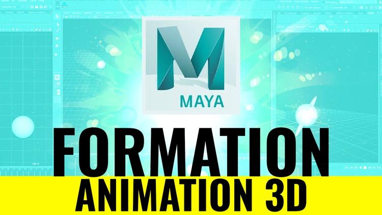 AUTODESK MAYA : FORMATION ANIMATION 3D  (2019)