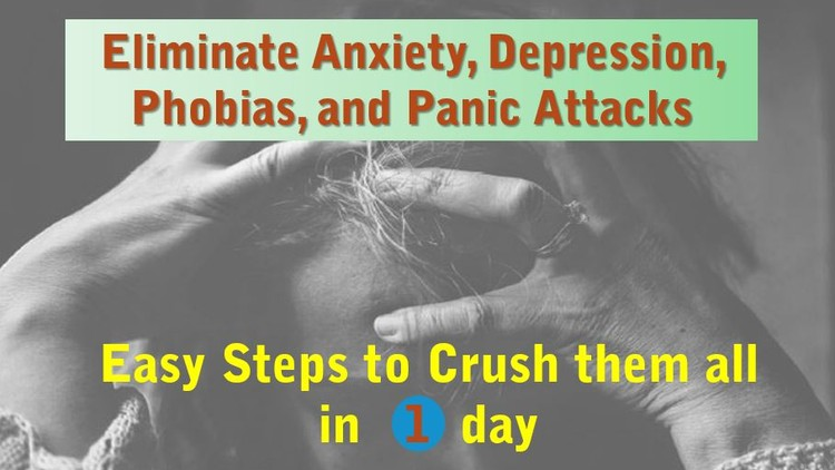 [100% Off UDEMY Coupon] - Stop Anxiety: Crush it without doctors, pills, or therapy.