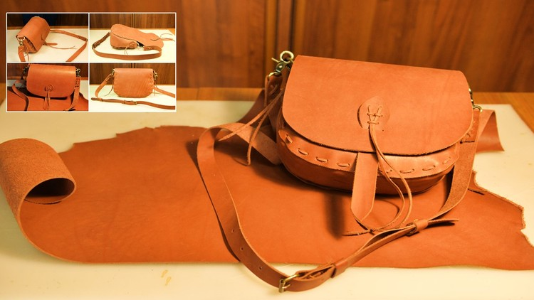 Diy Leathercrafting Make Your Own Leather Bag In 2 Hours