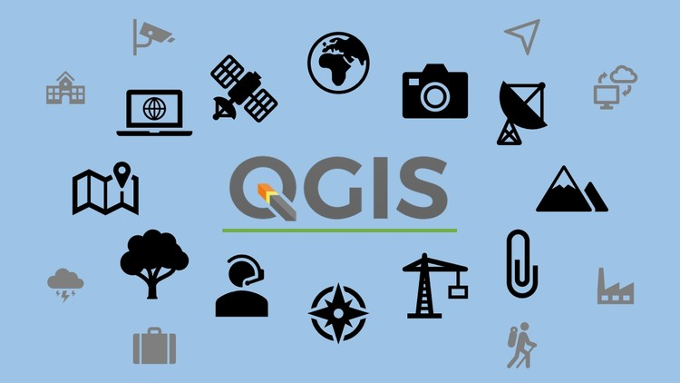 GIS in QGIS 3 for beginners (project and e-book) | Udemy