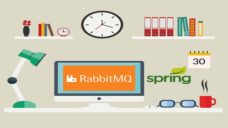 2019] RabbitMQ : Messaging with Java, Spring Boot And Spring MVC
