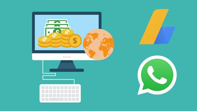 Easy Adsense Method Using Whatsapp Free Traffic 2019