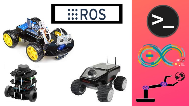 Robotics with ROS : Mastering Mobile Robots using Ardunio | Udemy