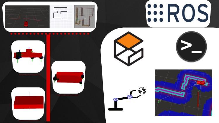 Robotics with ROS : SLAM and Autonomous Driving Custom Robot | Udemy