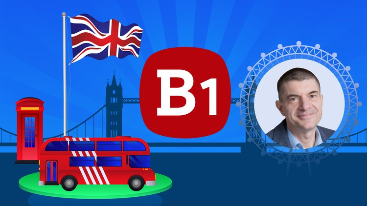 [100% Off UDEMY Coupon] - English Grammar Practice Tests Level B1 2019