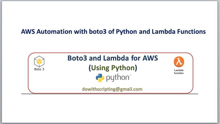 2019] AWS Automation with boto3 of Python and Lambda