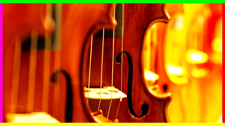 Violin Beginner to Advanced Vibrato - VIBRATO MASTER COURSE