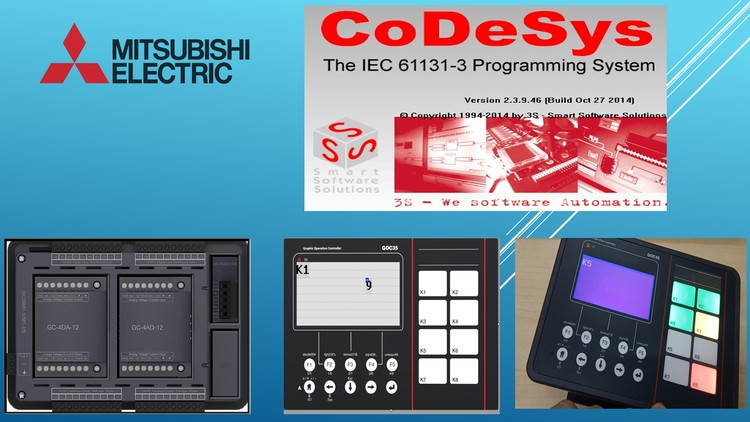 Learn Mitsubishi PLC+HMI for GOC 35 on Codesys | Udemy