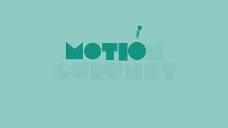 Create a professional logo motion using Motion v 2 Script