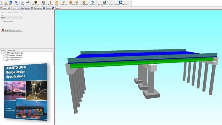 Leap bridge : AASHTO LRFD Bridge modeling & design Examples