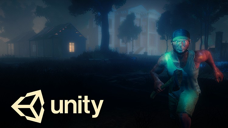 Make a horror survival game in Unity