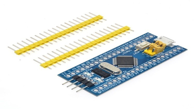 Learn STM32F103C8T6 microcontroller in C with Keil uVision