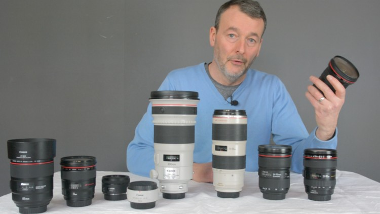 Canon lens course  The best lenses for your Canon DSLR | Udemy