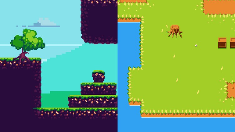 Learn to Make Pixel Art Tilesets With PyxelEdit