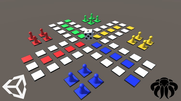 Unity Game Tutorial: Board Game - Ludo 3D | Udemy