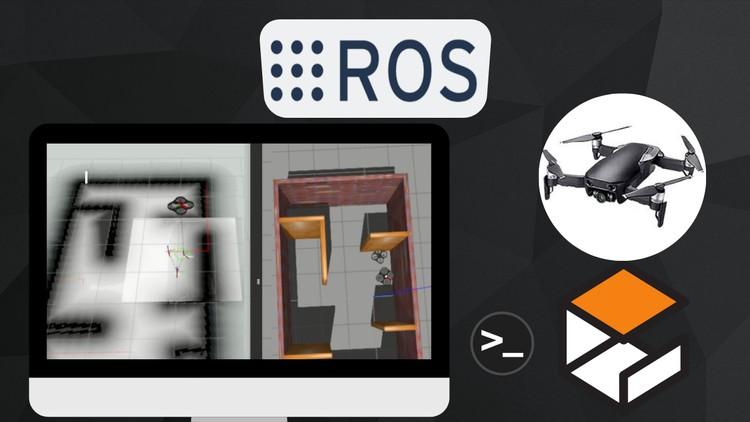 Robotics with ROS: Autonomous Drone with Path Planning SLAM | Udemy