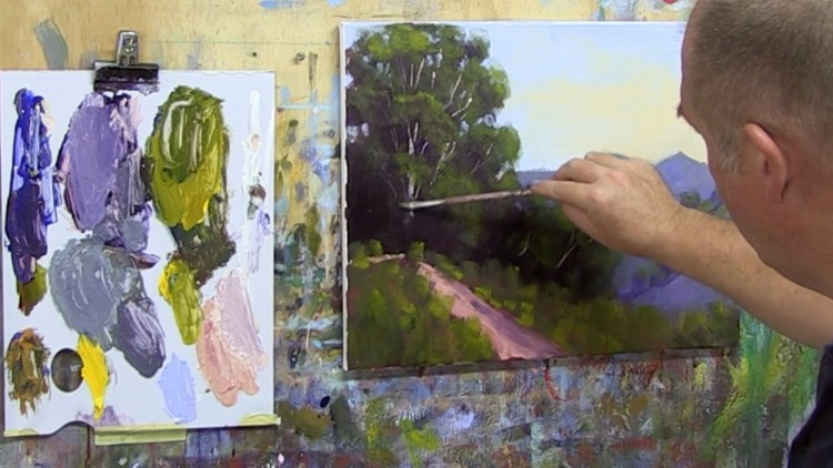 Learn To Paint – Oil Painting & Acrylic Painting Free Course