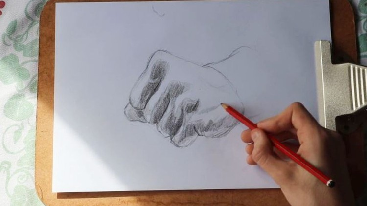 Simple Methods For Drawing Hands Easy Effective Lessons