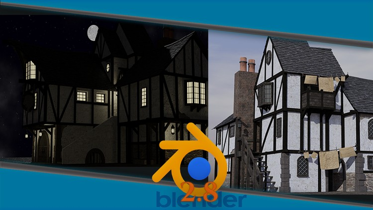 Blender 2 8 Complete Beginners Guide to 3D Modelling a Scene