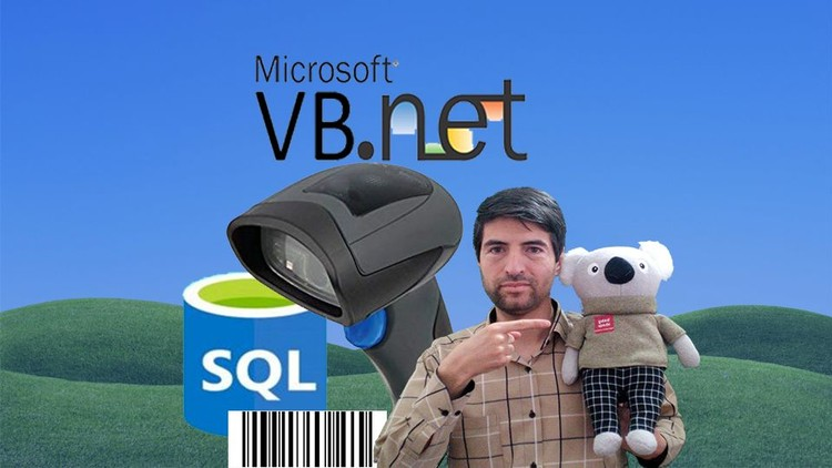Using Barcode Scanner in VB Net and SQL, SQL Server Database