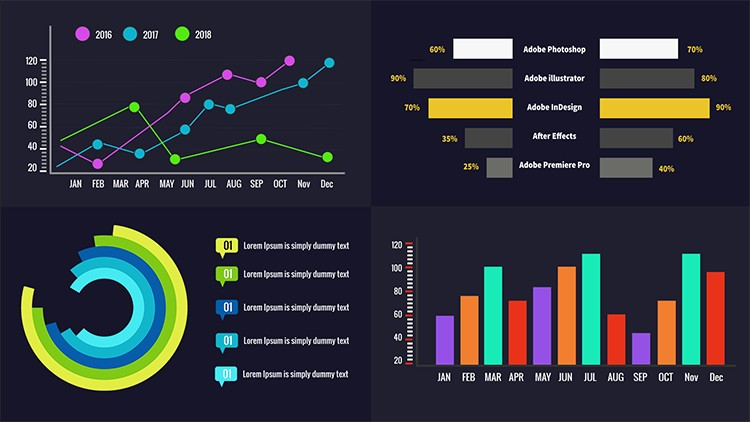 [100% Off UDEMY Coupon] - Animated Infographics With After Effects