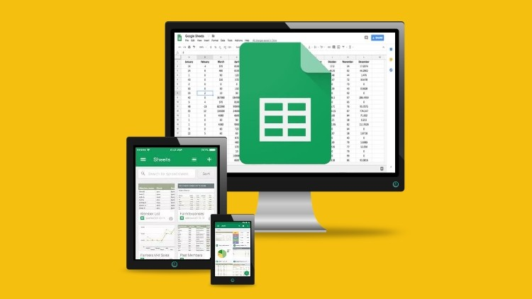 Google Sheets - The Complete Advanced Level Course | Udemy