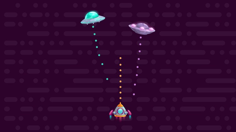 Udemy Free JavaScript Course: Learn JavaScript with Fun - Build an UFO Hunter Game