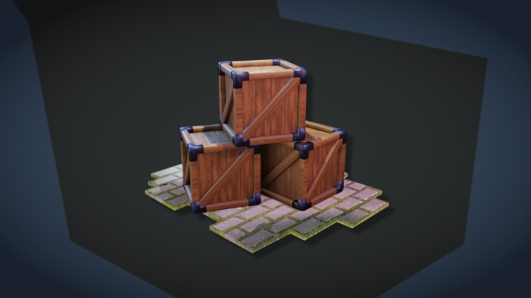 How to Create a Wooden Crate with Blender 2.8