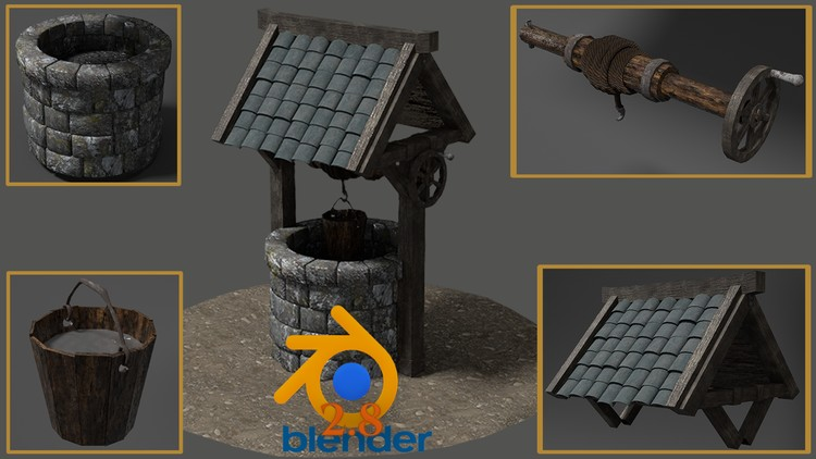 Blender 2.8 Creating your First 3D Game Model