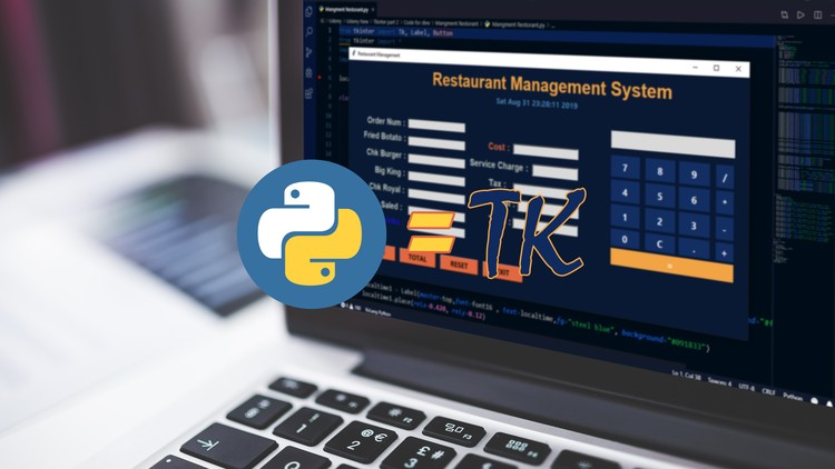 Learn Tkinter basics and Build Restaurant Management |Python
