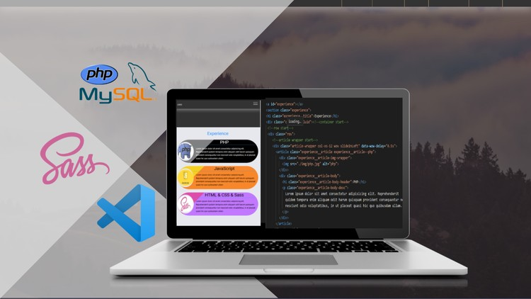 Modern Web Bootcamp, Design with PHP, SASS, CSS-GRID & FLEX