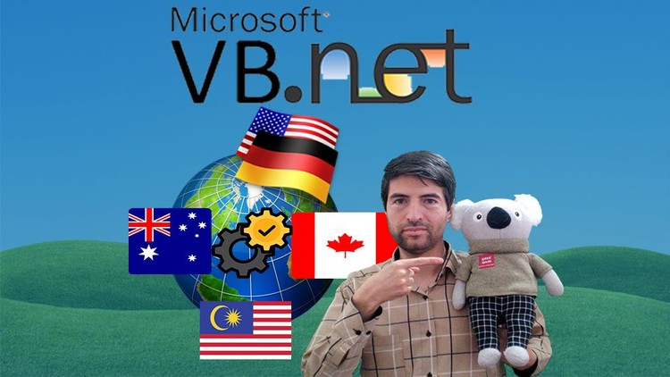Build Multi language Apps in VB .Net|Visual Basic.Net