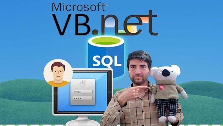 SQL in VB.Net Series:Multi User App , login form in VB & SQL