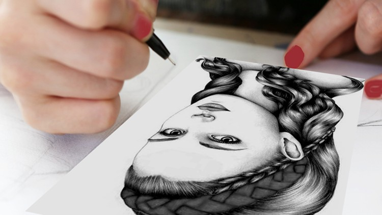 How DRAWING Easily? Step by Step with DRAWING School