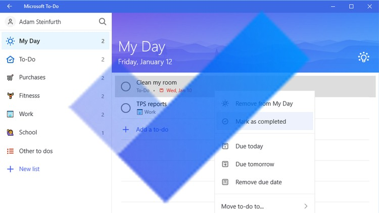 Gain Focus in Your Day with Microsoft To Do