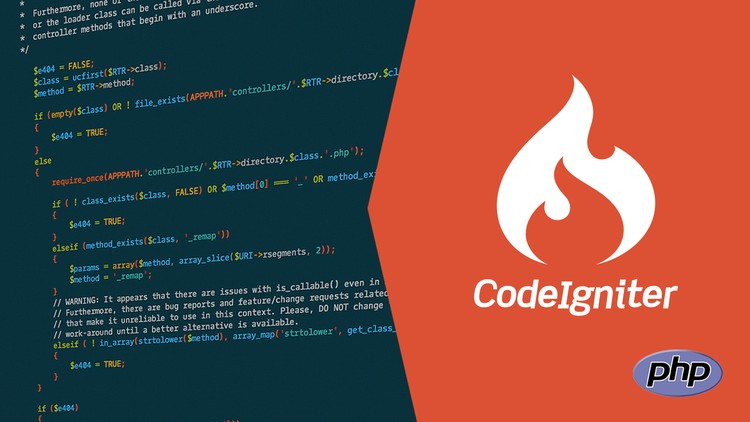Codeigniter: Learn concepts of Codeigniter [WEEKLY UPDATED] | Udemy