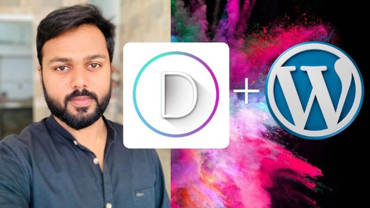 WordPress for Beginners: Create WordPress Website with Divi