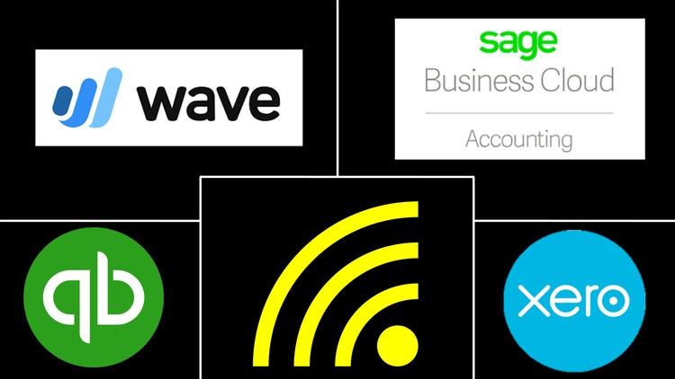 QuickBooks Online, Xero, Sage, Wave