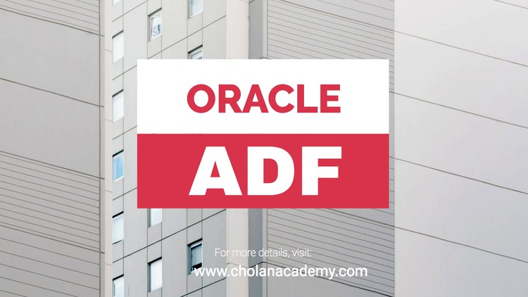 Comprehensive Course on Oracle ADF 12C for Beginners   Udemy