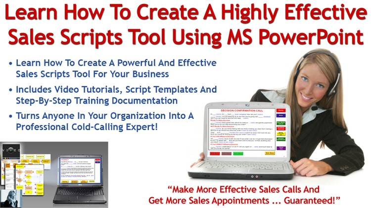 How To Create A Sales Scripts Tool Using MS PowerPoint | Udemy